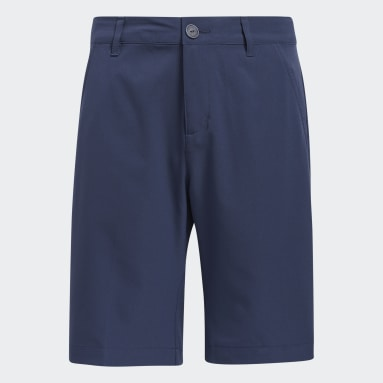 Boys Golf Blå Solid Golf Shorts