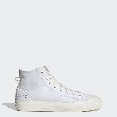 Originals White Nizza Hi RF Shoes