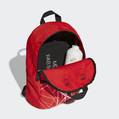 Kids 4-8 Years Sportswear Red Marvel Spider-Man Backpack