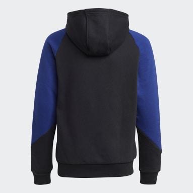 Hoodie adidas SPRT Nero Bambini Originals