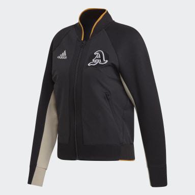 Women Sportswear Black VRCT Jacket