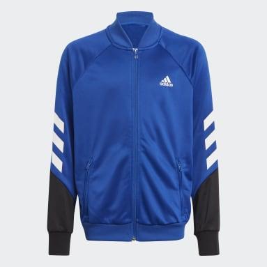 Boys Gym & Training Blue XFG 3-Stripes Track Suit