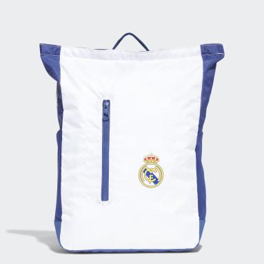 Voetbal Wit Real Madrid Rugzak