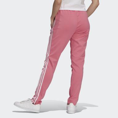 Ženy Originals růžová Sportovní kalhoty Primeblue SST