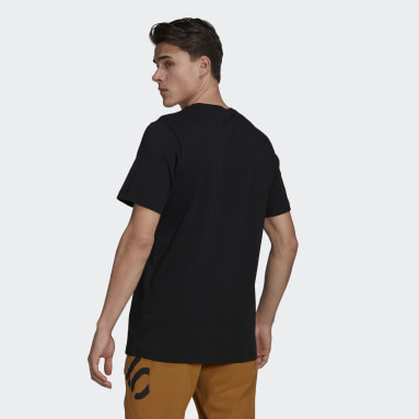 Men's Five Ten Black Five Ten Brand of the Brave Tee
