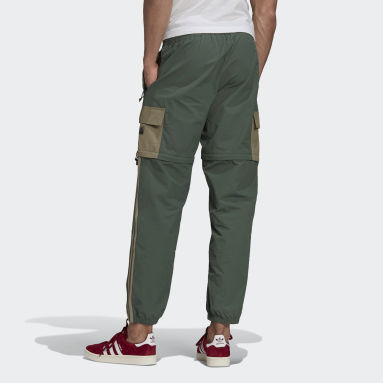 Heren Originals Groen R.Y.V. Utility 2-in-1 Broek