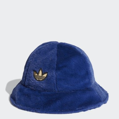 Originals modrá Klobouk adidas SPRT Faux Fur Bucket