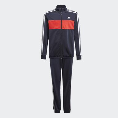 Boys Sport Inspired Blue adidas Essentials Track Suit