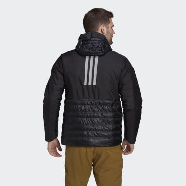 Men TERREX Black Terrex MYSHELTER Down Hooded Jacket