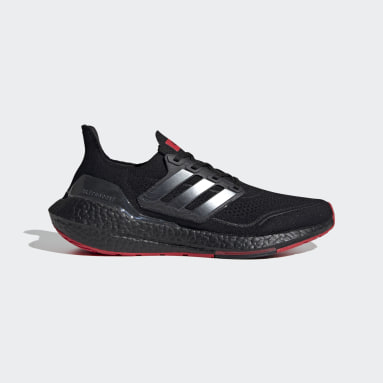 Men Running Black Ultraboost 21 x 424 x AFC Shoes