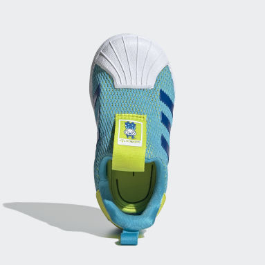 Chaussure Superstar 360 Turquoise Enfants Originals