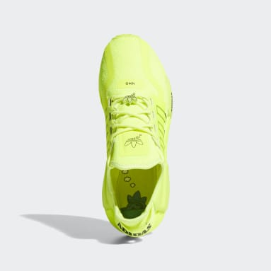 Chaussure NMD_R1V2 jaune Hommes Originals