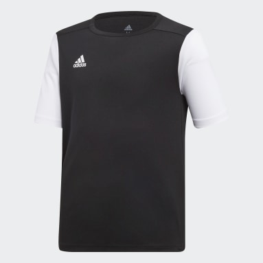 Camisa Estro 19 Preto Meninos Futebol