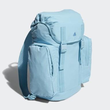 Women Tennis Blue Backpack