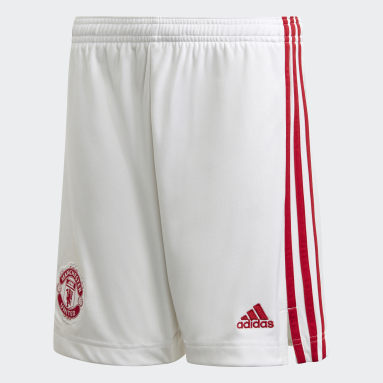 Manchester United 20/21 Third Shorts Bialy