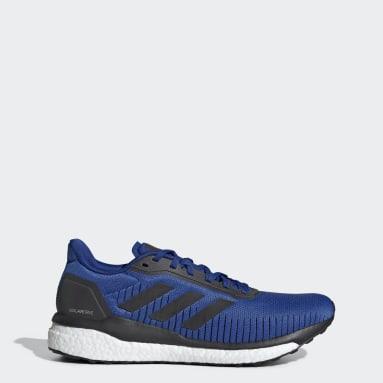 Running Blue Solar Drive 19 Shoes