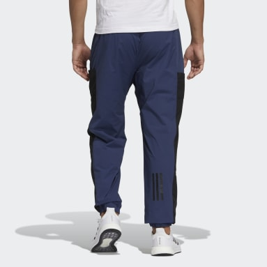 Men Sportswear Blue Badge of Sport Mesh Pants