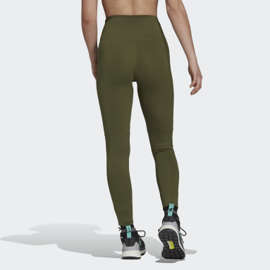 Women TERREX Green Terrex Multi Primeblue Leggings