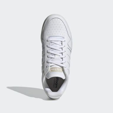 Women Basketball White Postmove Shoes