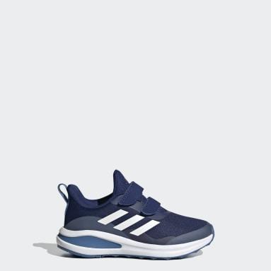 Barn Löpning Blå FortaRun Double Strap Running Shoes
