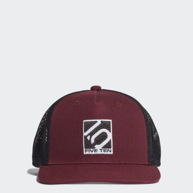 Five Ten Five Ten H90 Trucker Kappe Weinrot