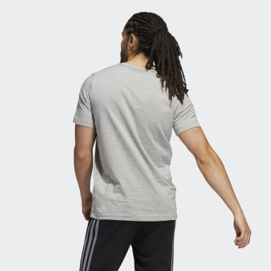 Men's Essentials Grey Americana Graphic Tee