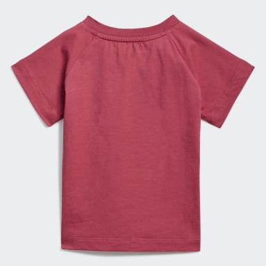 Infants Originals Pink Adicolor Graphic Tee