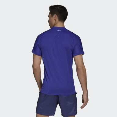 T-shirt da tennis  Primeblue FreeLift Viola Uomo Tennis