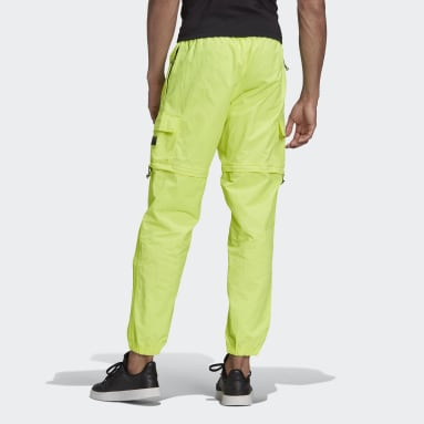 Heren Originals Geel R.Y.V. Utility 2-in-1 Broek