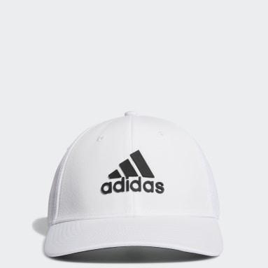 Men Golf White Tour Hat