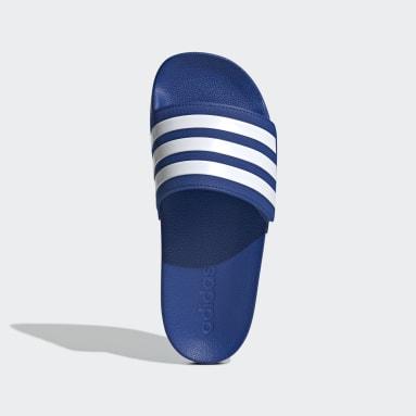 Children Yoga Blue Adilette Shower Slides