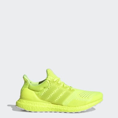 Men Running Yellow Ultraboost 1.0 DNA Shoes