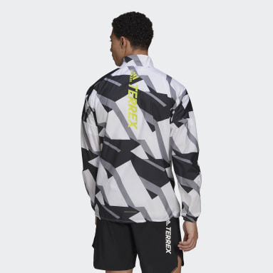 Men's TERREX White Terrex Parley Agravic WIND.RDY Windbreaker