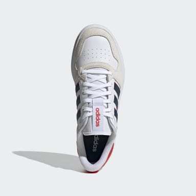 Men Sport Inspired White Breaknet Plus Shoes