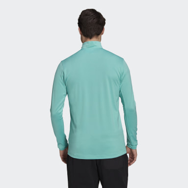 Men TERREX Green Terrex Everyhike Half-Zip Fleece Jacket