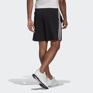 Heren Sportswear Zwart AEROREADY Essentials 3-Stripes Short