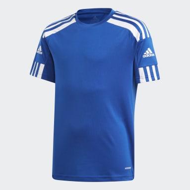 Maillot Squadra 21 Bleu Adolescents Soccer