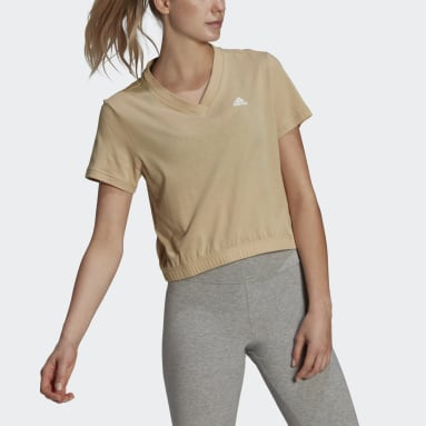 T-shirt Essentials Dance Beige Femmes Sport Inspired