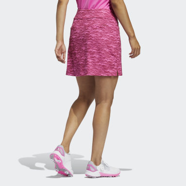 Dames Golf Roze Ultimate365 Primegreen Printed Skort