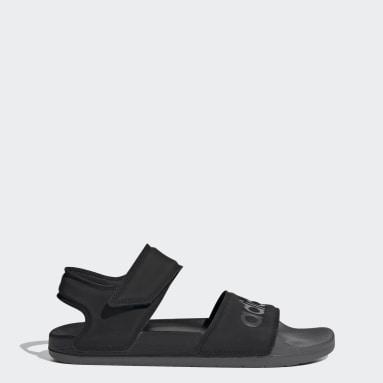 ว่ายน้ำ สีดำ รองเท้าแตะ Adilette