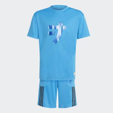 синий Комплект: футболка и шорты adidas x LEGO® NINJAGO® Jay