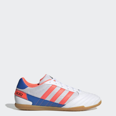 Men Football White Super Sala Boots