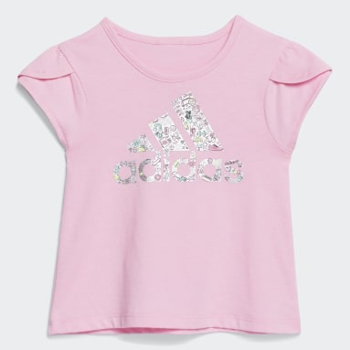 Infant & Toddler Training Pink Core Tee and Ruffled Skort Set