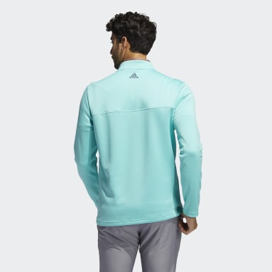 Men's Golf Green Club Quarter-Zip Sweatshirt