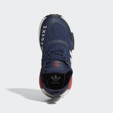 Infant & Toddler Originals Blue NMD_R1 Shoes