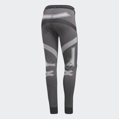 Kadın adidas by Stella McCartney Siyah Run Ultra Tayt