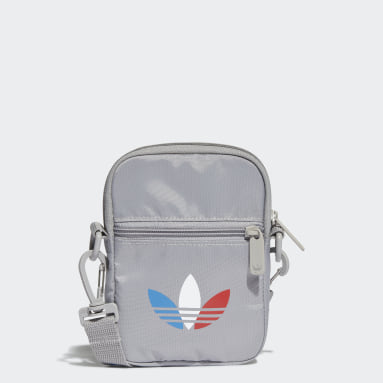 Originals Grey Adicolor Tricolor Festival Bag