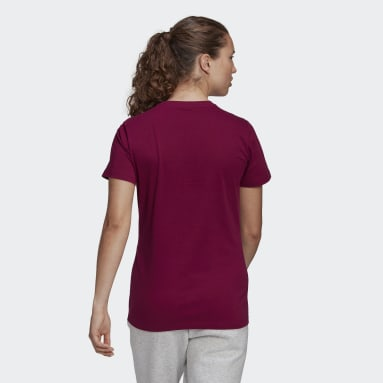 T-shirt Must Haves Badge of Sport Bordeaux Femmes Essentials