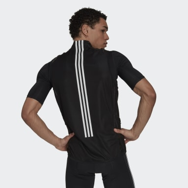 Heren Wielrennen zwart The Sleeveless Cycling Bodywarmer