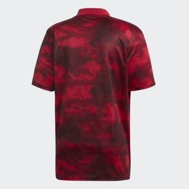 Camiseta TAN Graphic Burgundy Hombre Fútbol